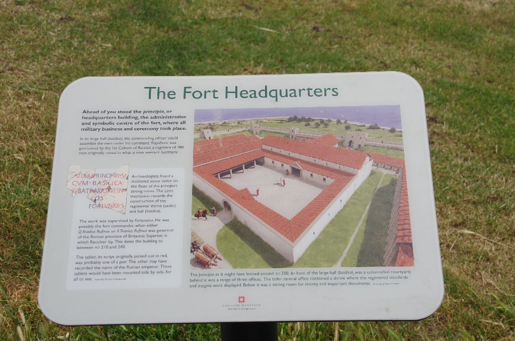 Roman fort drawing